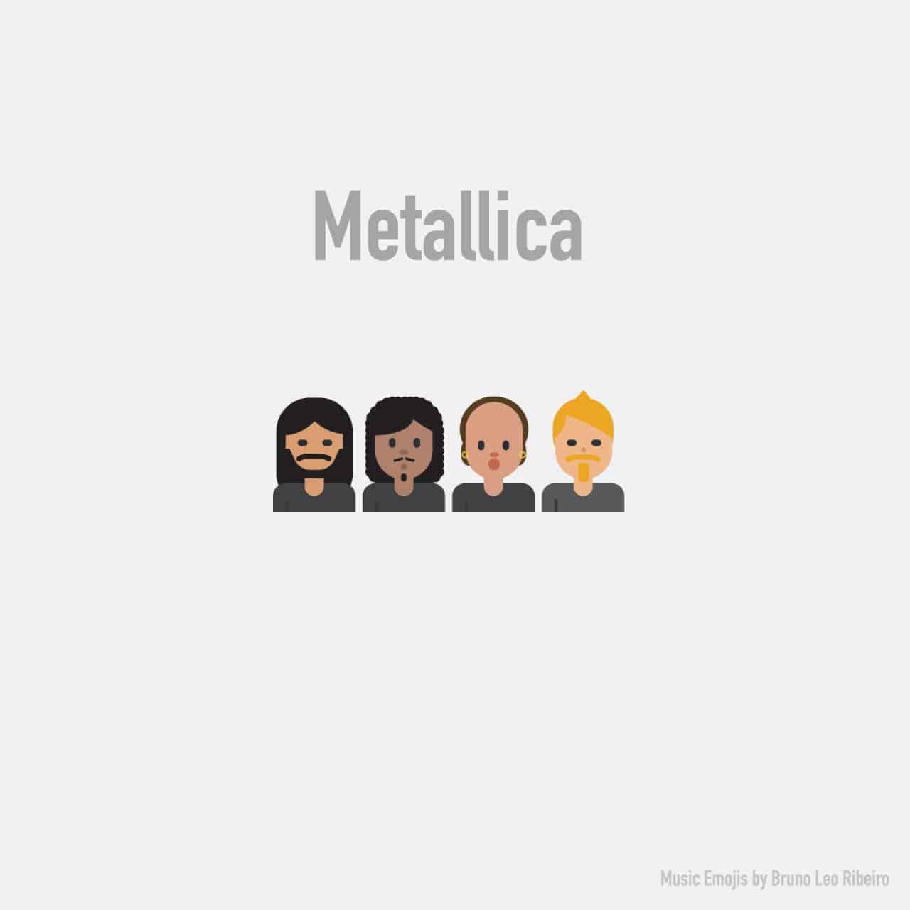 Emojis von populären Bands und Musikern   Dravens Tales from