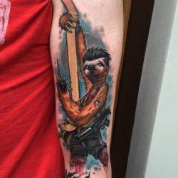 Coole Faultier Tattoos