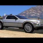 GTA V Paluu tulevaisuuteen Delorean Mod
