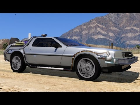 gta v back to the future delorean mod dravens tales from. Black Bedroom Furniture Sets. Home Design Ideas
