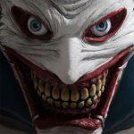 Joker como anão de jardim