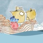Captain Bluebeard and the brown bags