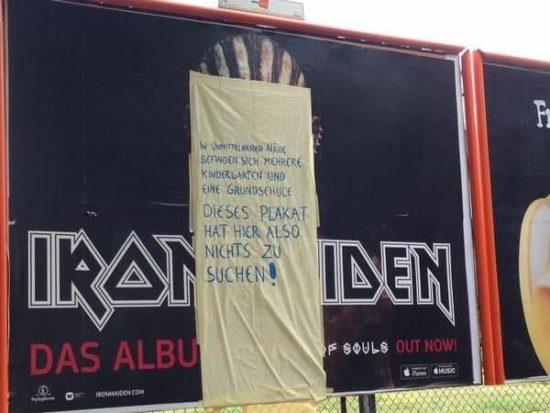 """Wer schützt unsere Jugend vor dem satanistischen Iron-Maiden-Zombie """"Eddie"""""""