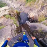 Sick 59 Meter cliff jump from a first person perspective