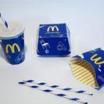 McDonald's macht blau