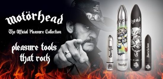 Motörhead Dildo: Pleasure Tools että Rock!