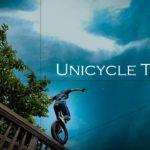 Parkour con el monociclo