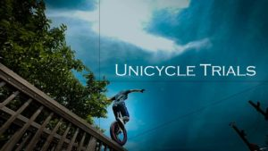 Parkour avec le monocycle
