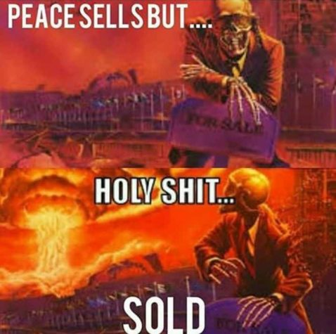 Peace sells but....