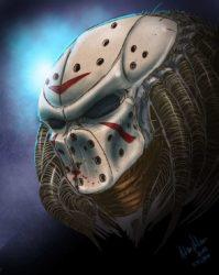 Predavoorhees - Predator Jason Voorhees Mashup
