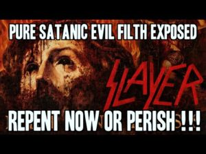 "Slayer: ""Repentless""-Clip ist der ""pure satanistische böse Dreck"""