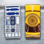 Star Wars Handtuch Set: R2-D2 & C-3PO