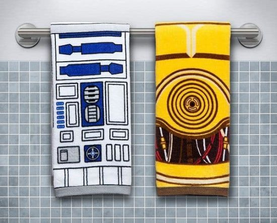 Star Wars Handtuch Set: R2-D2 & C-3PO
