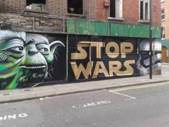 Arrêter les guerres!