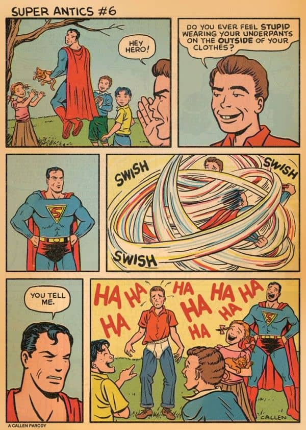 Superman's underpants