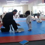 Taekwondo: The little boy and the board
