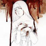 John Anna malt Bilder mit dem eigenen Menstruationsblut