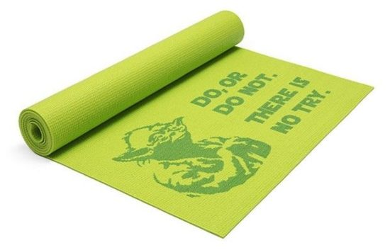 This Yoda yoga mat you need