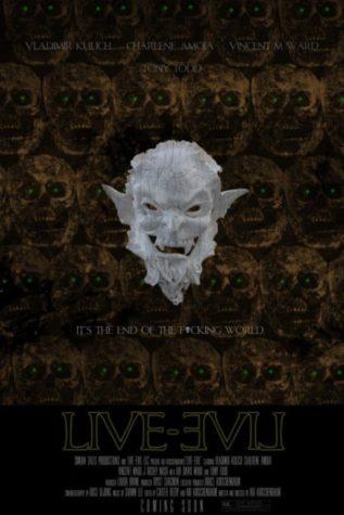Na żywo Zła - Plakat