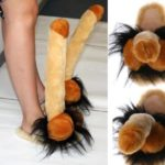 Penis slippers for men and women