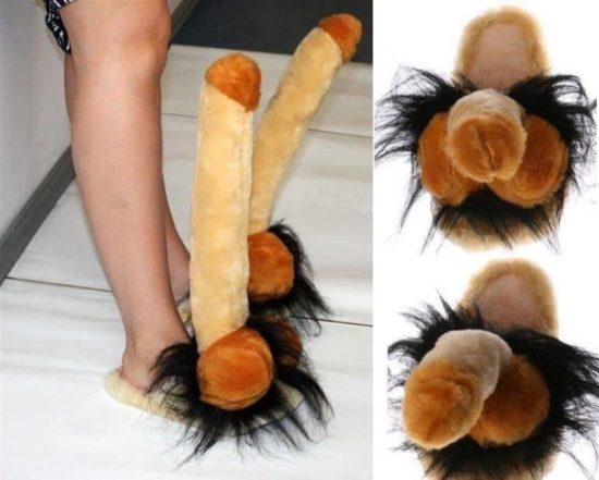 Penis slippers voor mannen en vrouwen