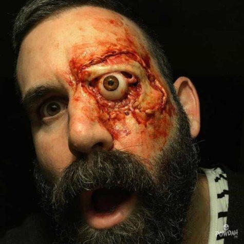 Powdah FX horror makijaż jest niczym dla słabeuszy