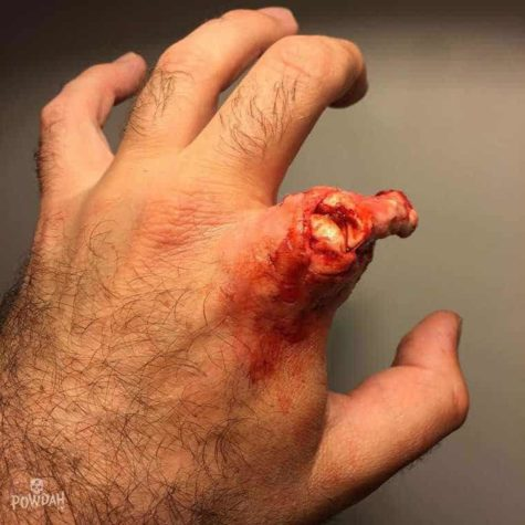 Powdah FX horror makeup is nothing for the faint hearted
