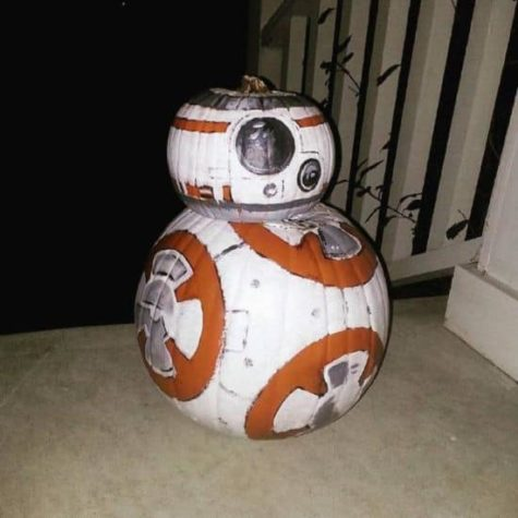 Star Wars BB-8 calabaza