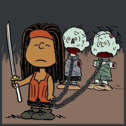 Walking The Dead - Apocalyptic Peanuts