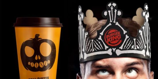 Burger King siellä frangia Fries & Halloween Whopper