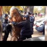 Chewbacca arrested in Ukraine!