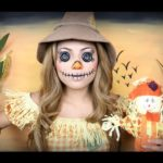 Maquillage Scarecrow Creepy