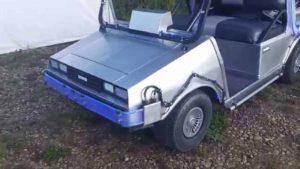 DeLorean Golfmobil