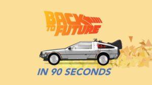 """Die """"Zurück in die Zukunft""""-Trilogie in 90 Segundos"""