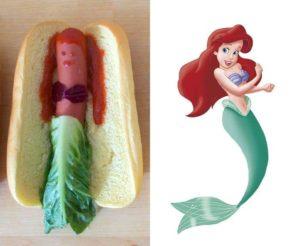 Hot Dog Royale: Disney-Prinzessinnen mal anders