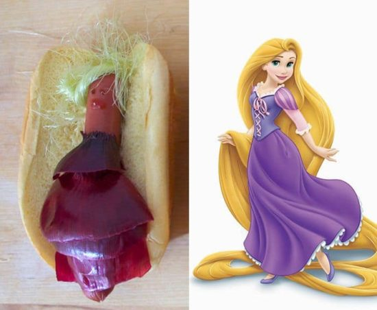 Hot Dog Royale: Disney Prinsessor mal anders