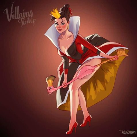 Disney Schurkinnen als Pin-Up Girls