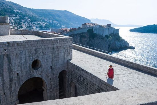 Dubrovnik: Festung Lovrijenac - Red Keep (King's Landing)