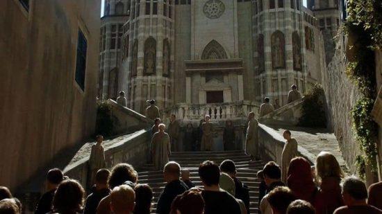 Dubrovnik: Barok trappe - Shaming Scene