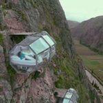 Transparenta sovande kapslar i mer än 120 Meter