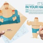 Fitness-Studio Origami: From Couch Potato is Athlete