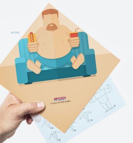 Fitness-Studio Origami
