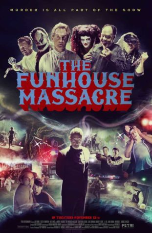 De Funhouse Massacre (2015) -  Poster