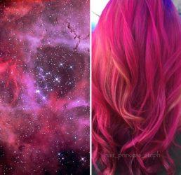 Die Galaxie in deinen Haaren