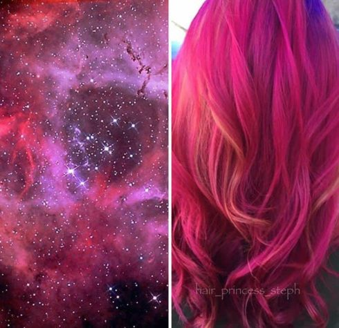 The galaxy in your hair