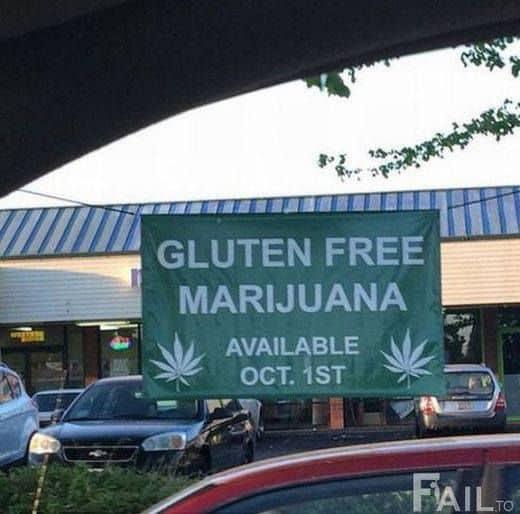 Glutenvrij Marijuana
