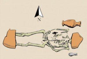 Encuentran tumba antigua griega de los muertos vivientes