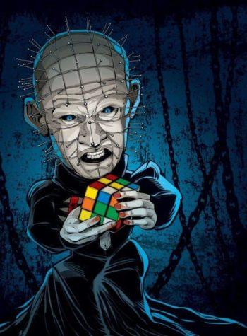 Hellraiser Rubiks Cub
