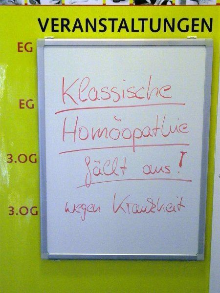 Homeopathy precipitates