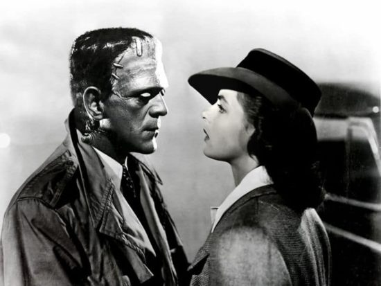 Frankenstein schepsel in Casablanca